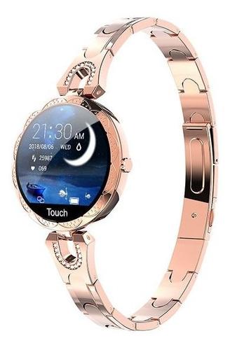 reloj inteligente mujer, dispositivo impermeable, ritmo card