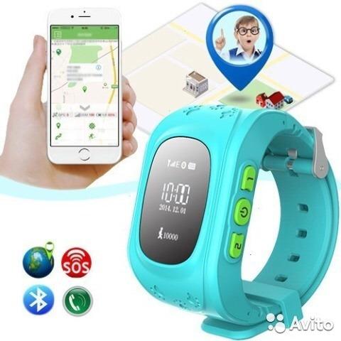 reloj inteligente niños gps q50 con localizador y llamadas
