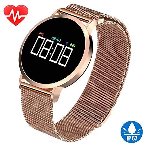 9ade7e7d8 Reloj Inteligente Para Mujer Para iPhone Android Fitness - $ 309.990 ...