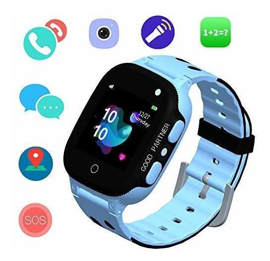 nuevo concepto c8b76 98a70 Reloj Inteligente Para Niños Gps Tracker Ip67 Relojes Inte