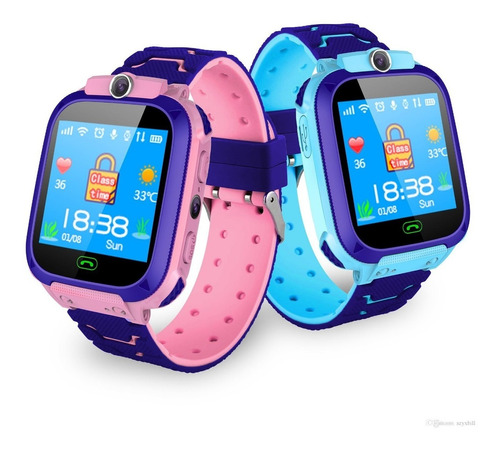 reloj inteligente para niños q528 gps localizador rastreador