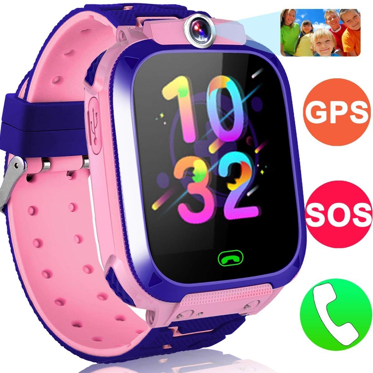 96ca105f28b6b reloj inteligente para niños rastreador con gps y llamadas. Cargando zoom.