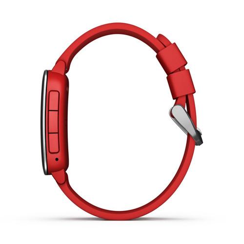 reloj inteligente pebble time - rojo