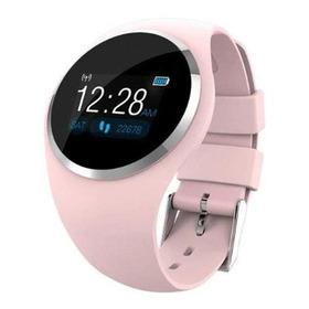 Reloj Inteligente Q1 Smart Watch Rosa Bluetooth Hombre Mujer