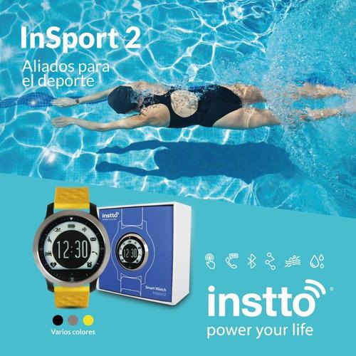 reloj inteligente running natación * android * ios * instto
