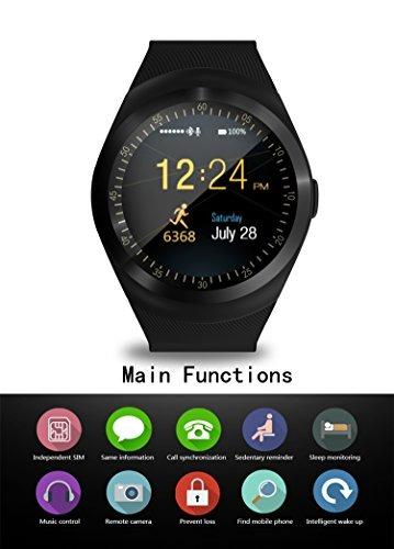 Sepver Reloj Bluetooth Inteligente Y Con Sn05 Podómetro kOP80Xwn
