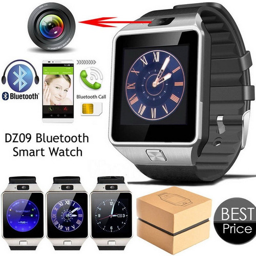 reloj inteligente smart watch dz09 android iphone 2017