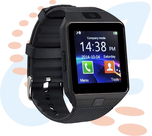 reloj inteligente smart watch dz09 android simcard micro sd