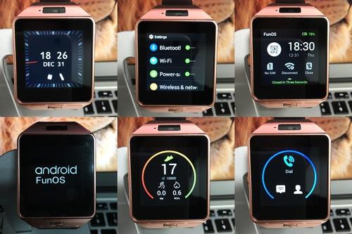reloj inteligente smart watch qw09  so android 4.4 wifi 4gb