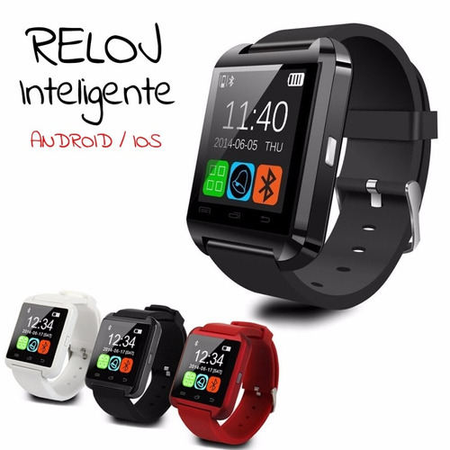 reloj inteligente smart watch u8 modelos 2017!!!