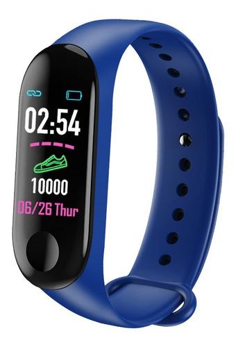 reloj inteligente smartband iqual motion bluetooth deportivo