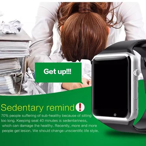 reloj inteligente smartwatch a1 camara sim bluetooth