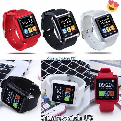 reloj inteligente smartwatch celular camara dz09 gt08 u8