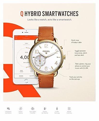 b5465d1f915d Reloj Inteligente Smartwatch Fossil Q Tailor 2g Hybrid Café ...