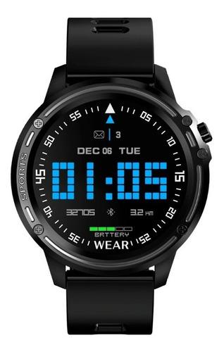 reloj inteligente smartwatch kei f4s touch negro