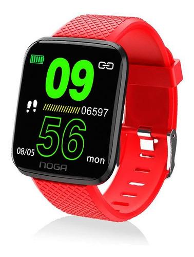 reloj inteligente smartwatch noga sw02 running presion cuota