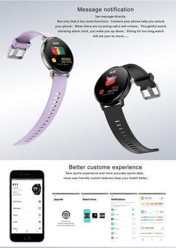reloj inteligente smartwatch sumergible control música gps