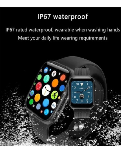 reloj inteligente smartwatch t500