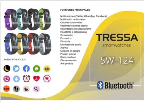 reloj inteligente smartwatch tressa sw-124 garantia jr joyas