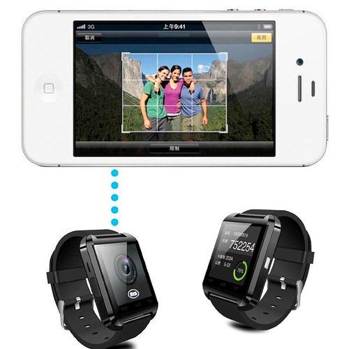 reloj inteligente smartwatch u8 android 30% descuento