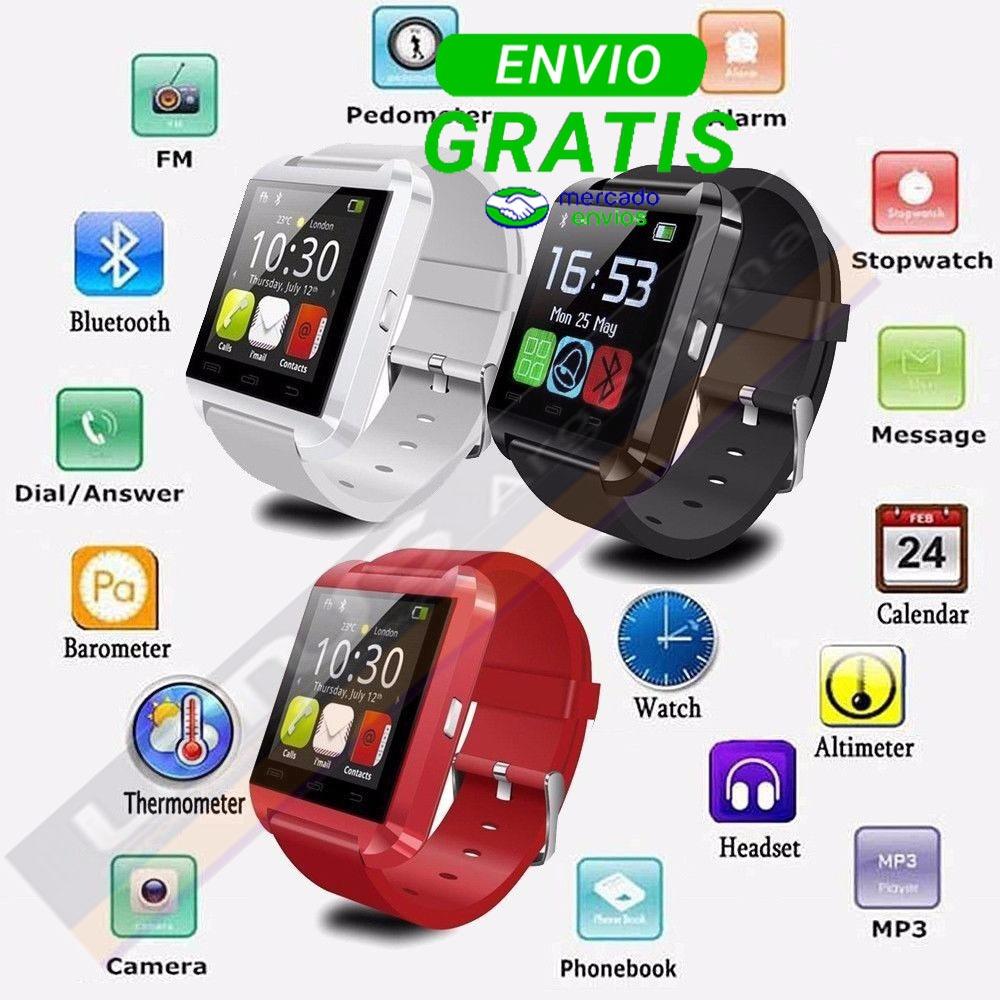 dfbc3cf1488 Reloj Inteligente Smartwatch U8 Android - $ 909,00 en Mercado Libre