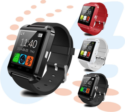 reloj inteligente smartwatch u8 android bluetooth tactil