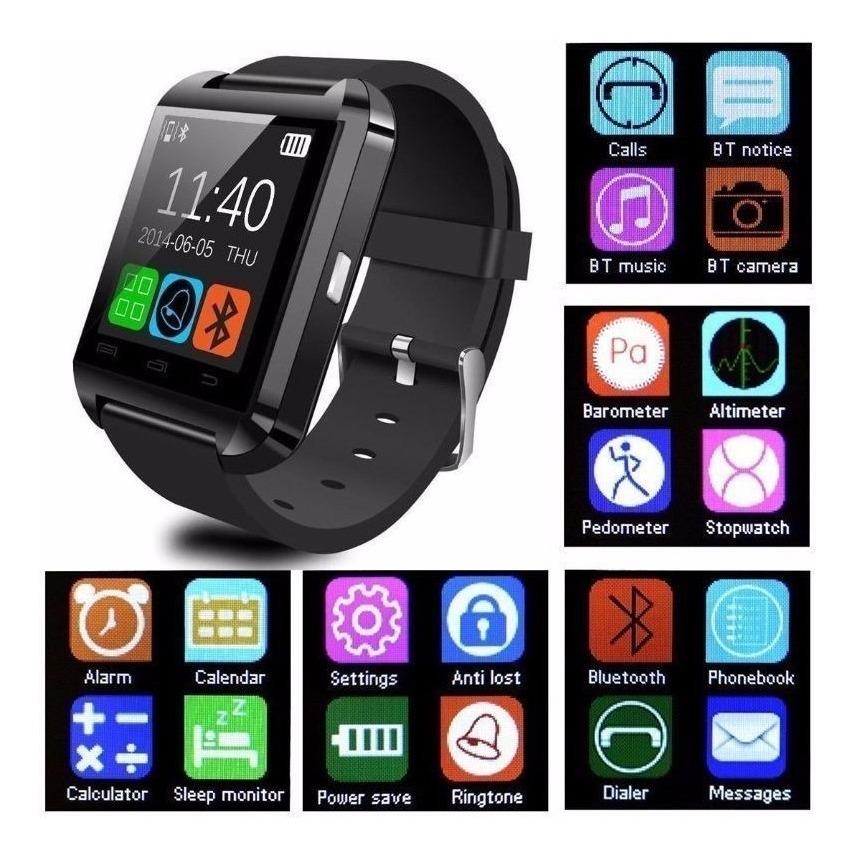 dfc49b29889 Reloj Inteligente Smartwatch U8 Android Super Oferta!!! - $ 650,00 en Mercado  Libre