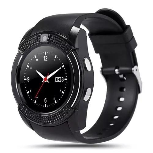 reloj inteligente smartwatch v8 sim card celular android ios