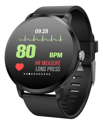 reloj inteligente v11 deportivo mide la frecuencia cardíaca