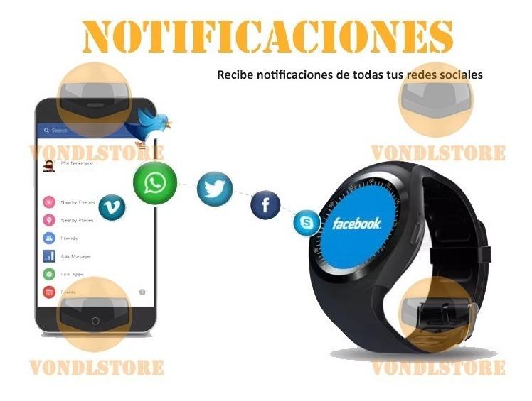 Reloj Inteligente Y1 Smartwatch Android Sim Camara M26 U8 Sd