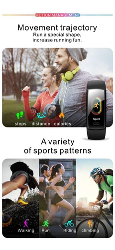 reloj inteligentes smart band watch qs90 plus sport fitness