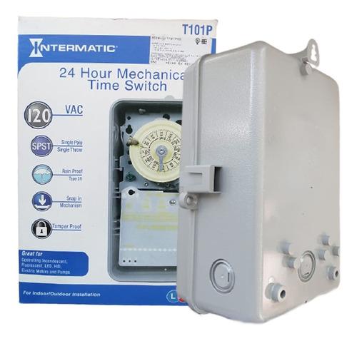 reloj intermatic timer automatización albercas 110v o 200v