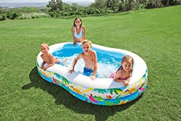Reloj intex swim center paradise piscina inflable 103 for Piscina inflable intex