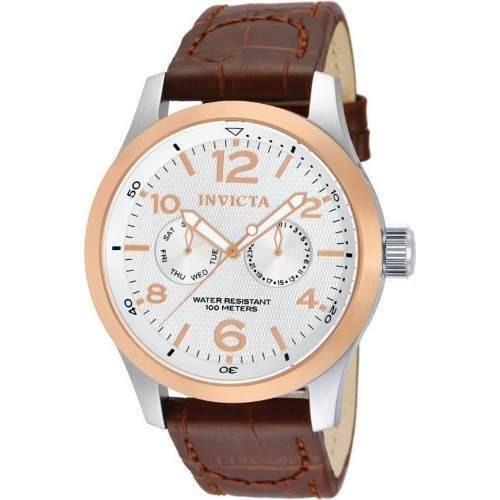 b823cdc5afe1 Reloj Invicta 13010 Cuero Marrón Hombre -   299.900 en Mercado Libre