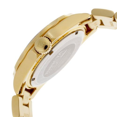 reloj invicta 14124 pro diver gold dial oro 18k ion-plateado