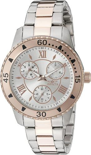 reloj invicta 21771 de brazalete de dos tonos