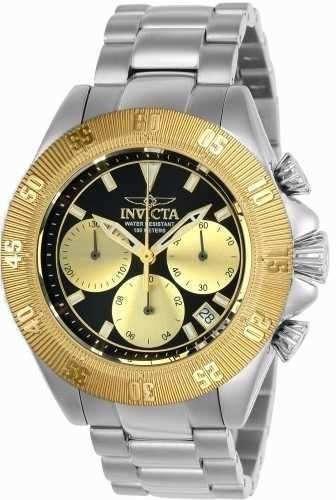 reloj invicta 22399 acero plateado hombre