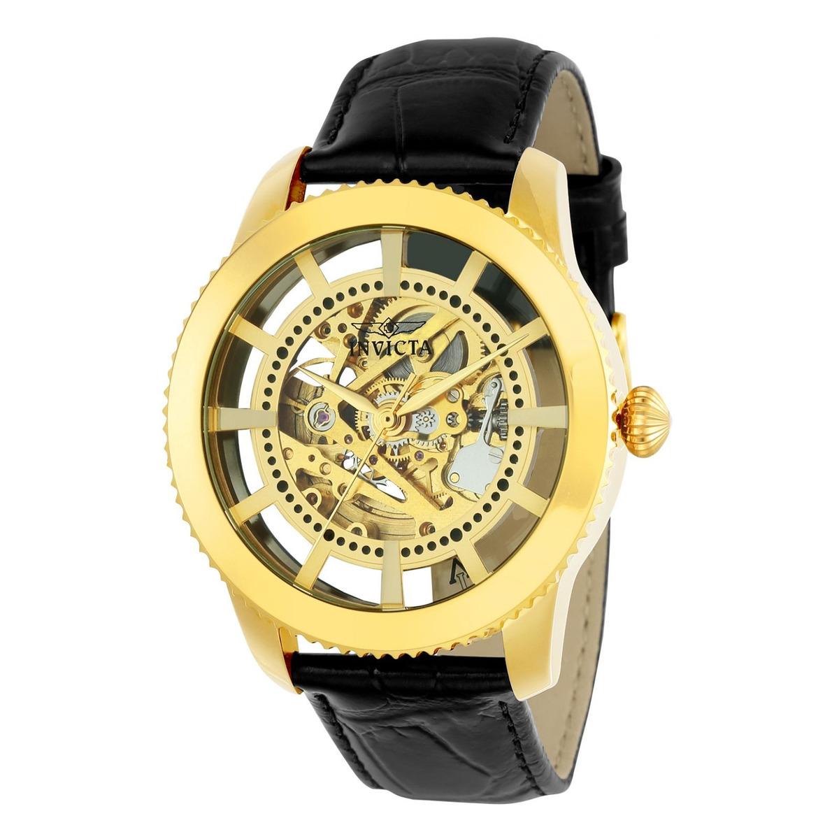 af6b4b1460f3 Reloj Invicta 22571 Cuero Negro Hombre -   499.900 en Mercado Libre