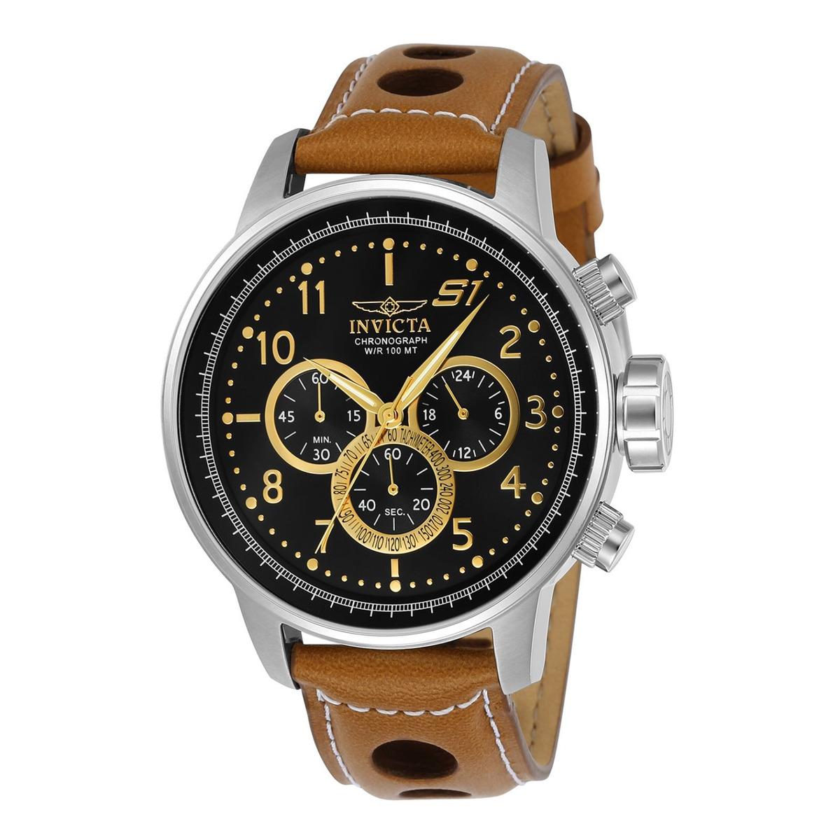 55d3065ce56e Reloj Invicta 23597 Cuero Marron Hombre -   379.900 en Mercado Libre