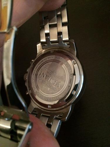 reloj invicta 4894 ii colección sport cronógrafo elite