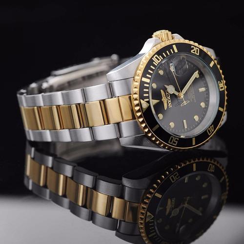 reloj invicta 8927ob pro diver enchapado en oro 18k