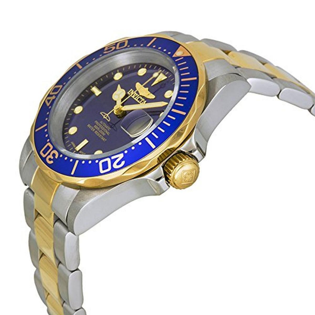 b2f0947b6d64 reloj invicta 8928ob pro diver automático 23k oro ionizado. Cargando zoom.