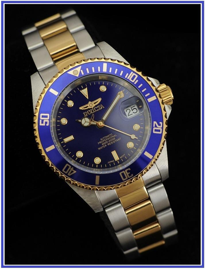 6b6ae017bb3f reloj invicta 8928ob pro diver automatico baño oro 23k. Cargando zoom.