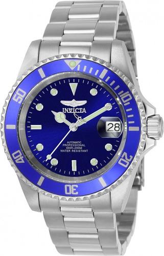 reloj invicta 9094ob acero plateado hombre