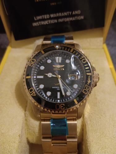 reloj invicta acero inoxidable master of the sea