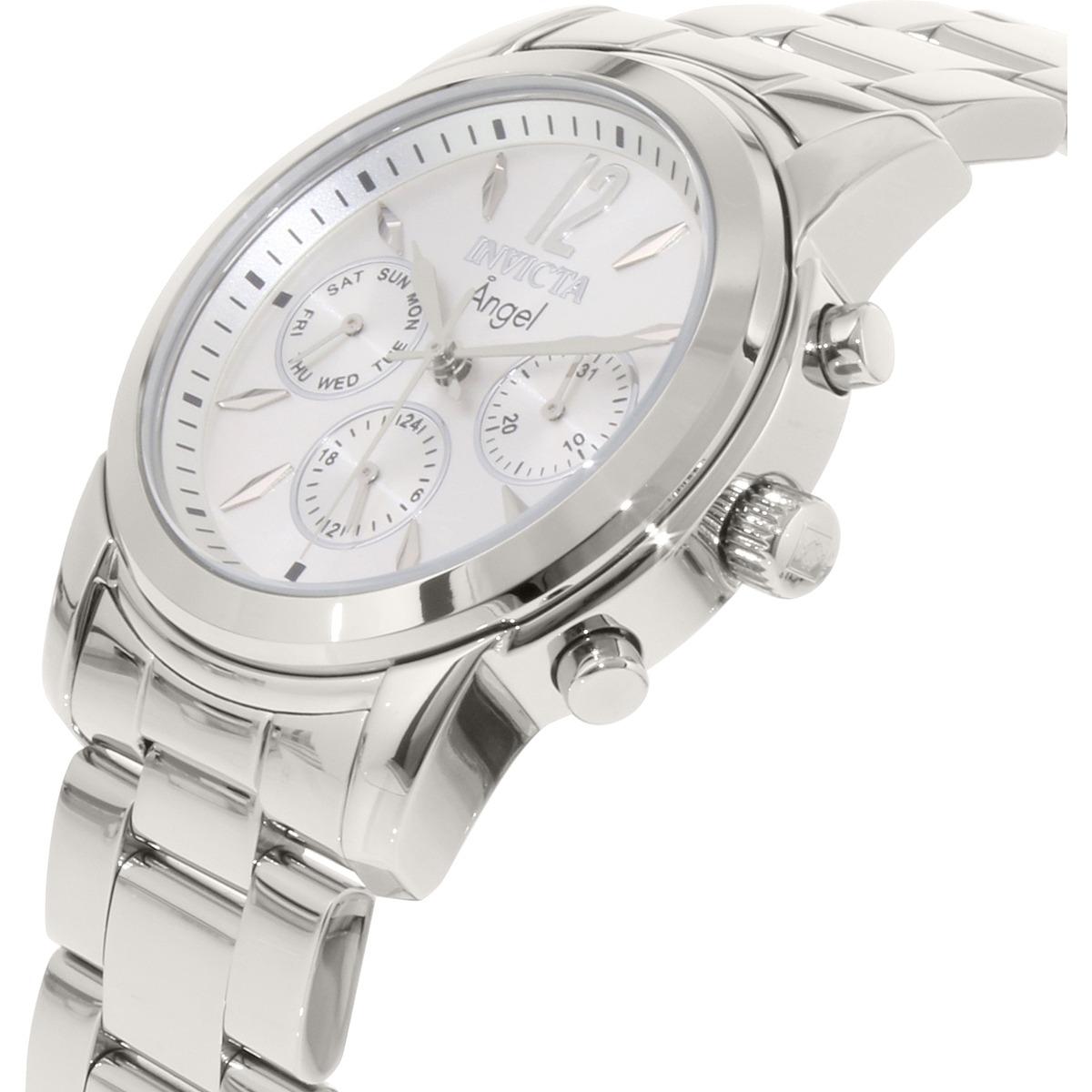 Reloj Invicta Angel 0461 Suizo Acero Inoxidable Para Mujer -   7.949 ... ecdc76307f4b