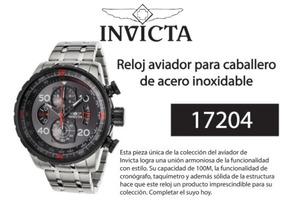 75c15735f2fe Reloj Invicta Aviator 17205 en Mercado Libre Perú