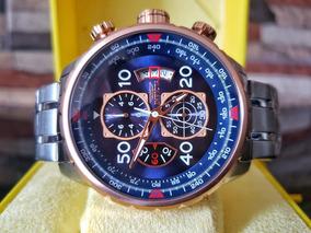 e862b6f77 Reloj Invicta Aviator Caballero Zafiro Original 17203