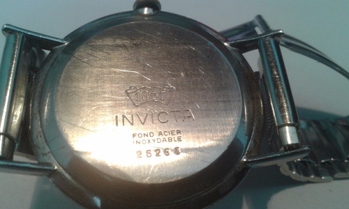 reloj invicta cuerda funcionando