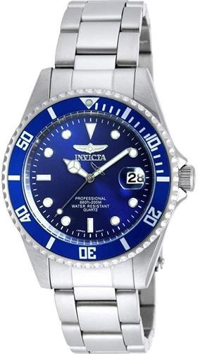 reloj invicta de hombre 9204ob azul promo